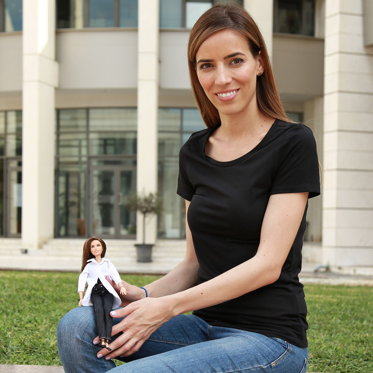 H πρώτη Ελληνίδα Barbie Role Model