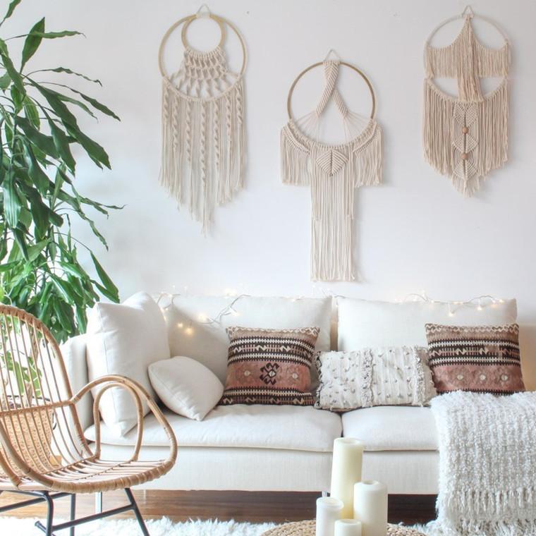 Macramé:η τέχνη διακόσμησης που έχει αγαπηθεί από τους σπουδαιότερους interior designers.