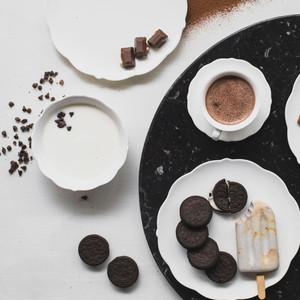 Φτιάξε παγωτό ξυλάκι με oreo cookies