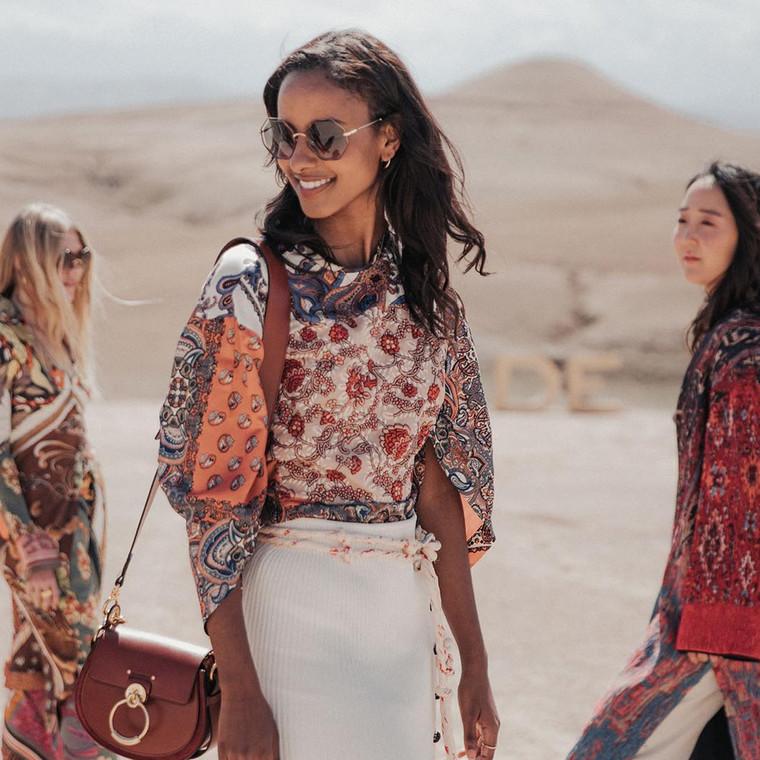 Τα κορίτσια της Chloé στην έρημο...