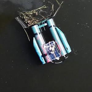 Η βάρκα-ρομπότ που καθαρίζει τα βρώμικα νερά