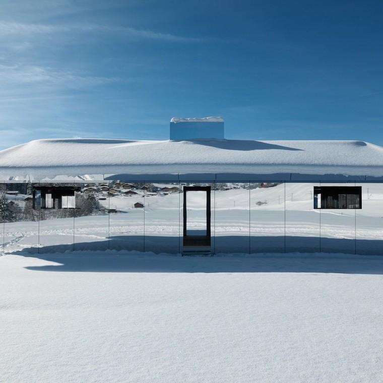 Το πιο εντυπωσιακό σπίτι με καθρέφτες στις ελβετικές Άλπεις