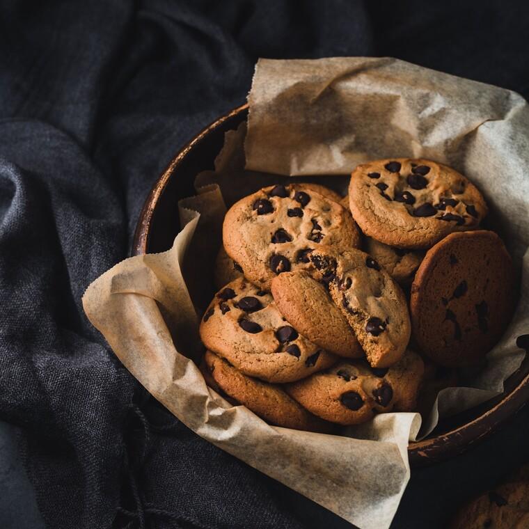 Λαχταριστά cookies χωρίς φούρνο
