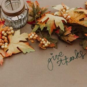 7 κατασκευές για να διακοσμήσεις το σπίτι σου την Ημέρα των Ευχαριστιών