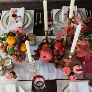 10 συνδυασμοί για να διακοσμήσεις υπέροχα το τραπέζι σου την Ημέρα των Ευχαριστιών