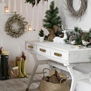 12 ιδέες για να μεταμορφώσεις το χολ του σπιτιού σου σε έναν εντυπωσιακό γιορτινό παράδεισο