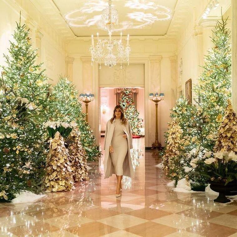 Φέτος η Melania ξεπέρασε πραγματικά τον εαυτό της με την διακόσμηση του Λευκού Οίκου