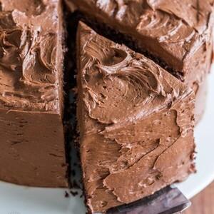 Σοκολατένια τούρτα σκέτη ...κόλαση