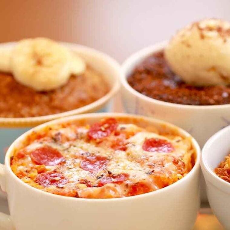 5 γεύματα που μπορείς να παρασκευάσεις στον φούρνο μικροκυμάτων μέσα σε 3 λεπτά