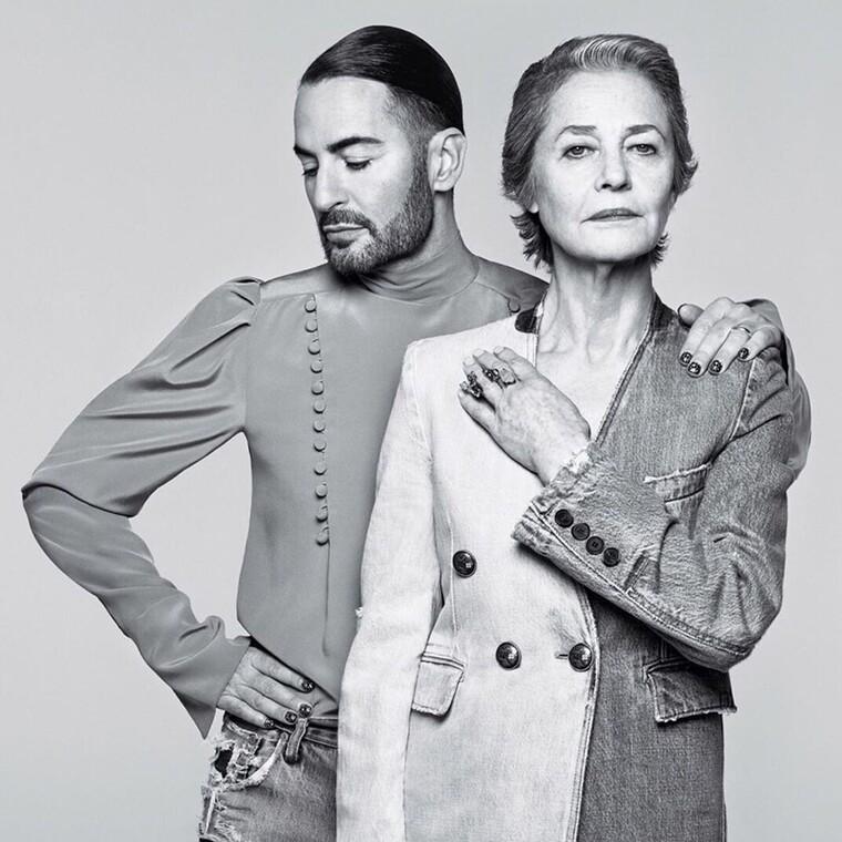 Marc Jacobs και Charlotte Rampling δημιουργούν το απόλυτο ντουέτο στη νέα καμπάνια του Givenchy