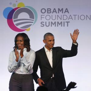 Μπάρακ και Μισέλ Ομπάμα: πήραν το πρώτο τους Oscar