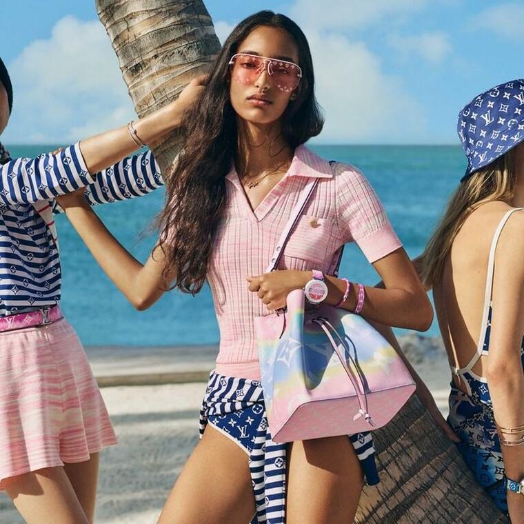 Escale Collection: Η νέα συλλογή της Louis Vuitton κλείνει το μάτι στο καλοκαίρι που έρχεται