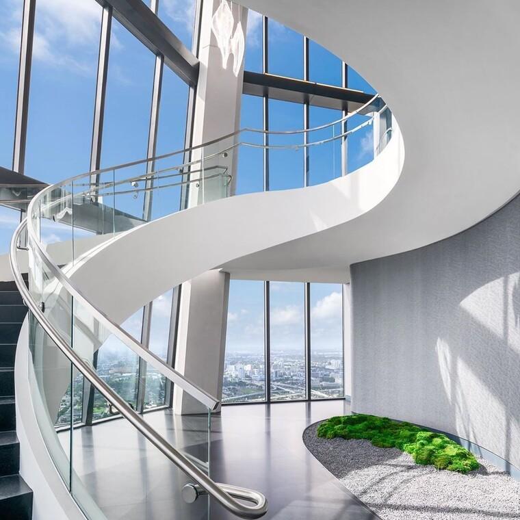 Oι Μπέκαμ αγόρασαν ένα ρετιρέ στο φουτουριστικό κτίριο της Zaha Hadid στο Μαϊάμι