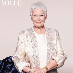 Judi Dench: Για πρώτη φορά η Vogue φιλοξενεί στο εξώφυλλό της μια star ετών... 85!