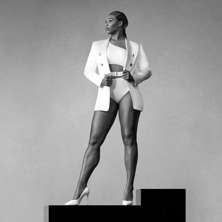 H Serena Williams προτρέπει τις γυναίκες να ακμάσουν με κάθε τρόπο