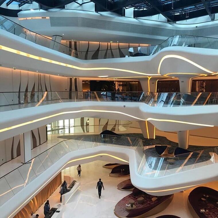 Το ξενοδοχείο ME Dubai που σχεδίασε η Zaha Hadid