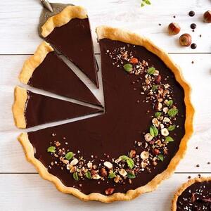 Η απόλυτη τάρτα σοκολάτας του καλοκαιριού