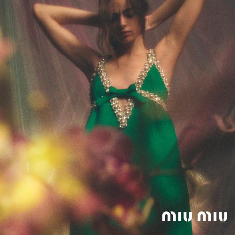 Ο οίκος Miu Miu λανσάρει από σήμερα την pre-fall συλλογή του