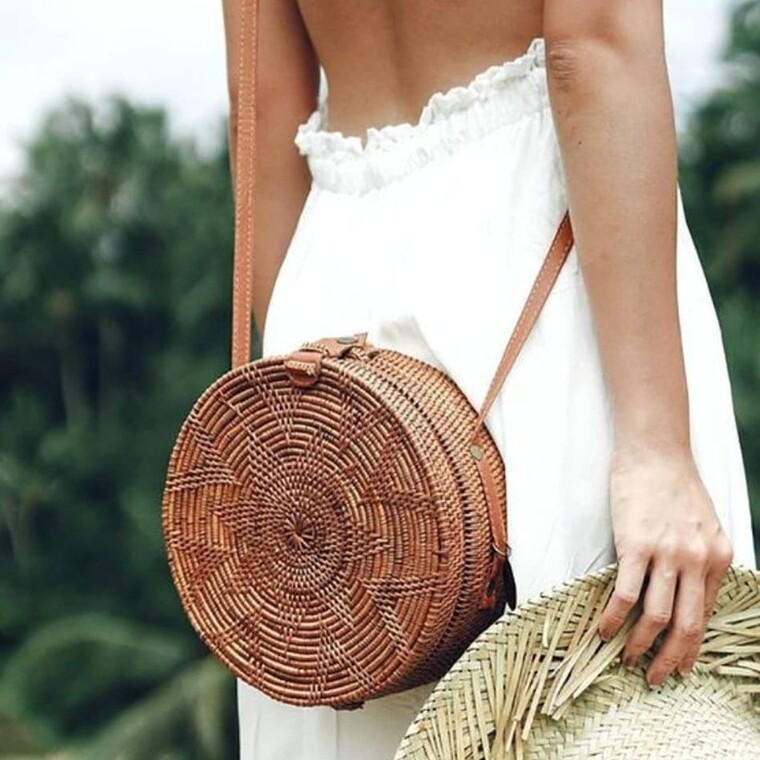 Straw bag: Η καλύτερη επιλογή για τις καλοκαιρινές εμφανίσεις σου