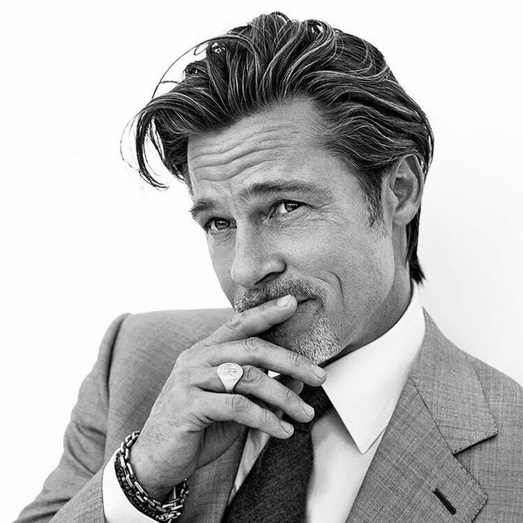 Πιο γοητευτικός από ποτέ ο Brad Pitt ποζάρει σαν μοντέλο για τον οίκο Brioni