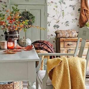 Όλα όσα πρέπει να οργανώσεις στο σπίτι σου για να υποδεχτείς το φθινόπωρο