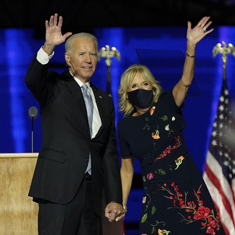 Η εντυπωσιακή εμφάνιση της Jill Biden ως Πρώτη Κυρία των ΗΠΑ