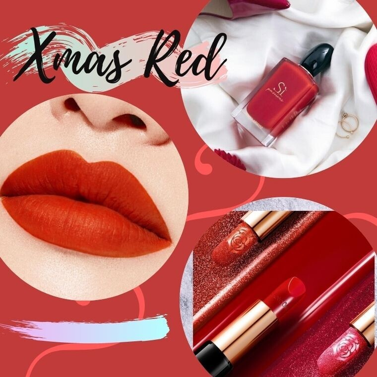 Xmas red! 20 κόκκινα beauty items που πρέπει να προσθέσεις στο νεσεσέρ σου