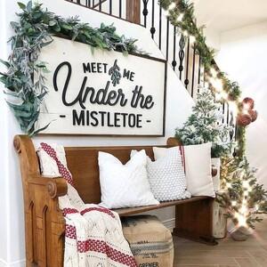 Πώς να διακοσμήσεις με χριστουγεννιάτικη διάθεση το χολ του σπιτιού σου