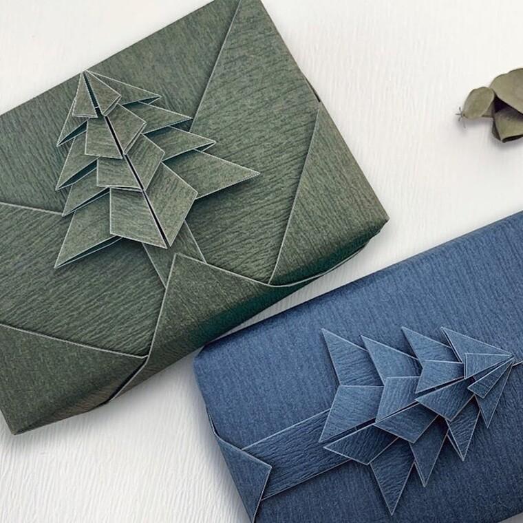 Διακόσμησε το πιο ωραίο δώρο με την τεχνική του origami και στείλε τις ευχές σου