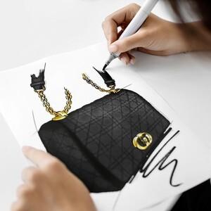 Βήμα βήμα η δημιουργία της νέας Caro Handbag του οίκου Dior