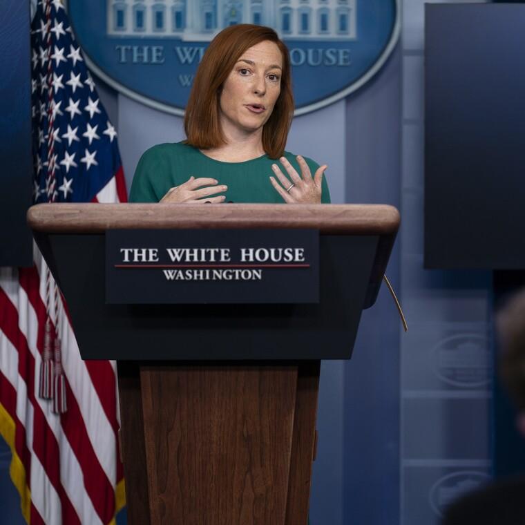 H μεγάλη αλλαγή που έκανε η Psaki στην πρώτη ενημέρωση Τύπου του Λευκού Οίκου