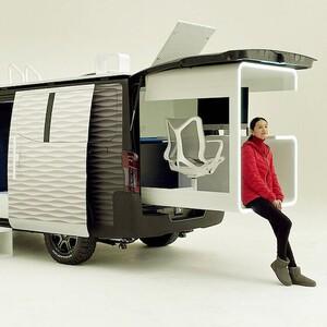 Ένα van με ενσωματωμένο γραφείο μεταφέρει την τηλεργασία σε άλλη διάσταση