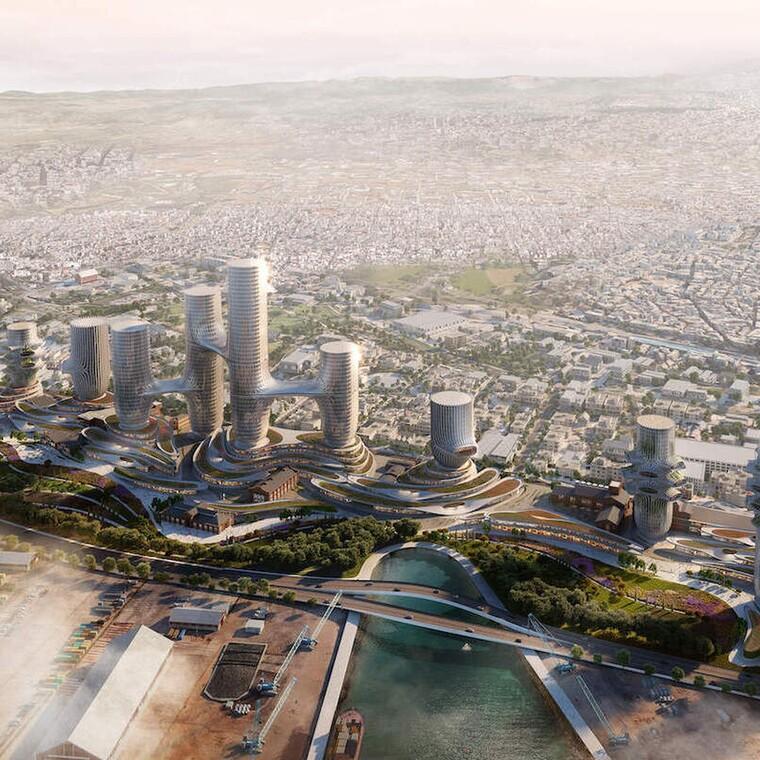 10 φουτουριστικοί πύργοι για την αναζωογόνηση της Θεσσαλονίκης