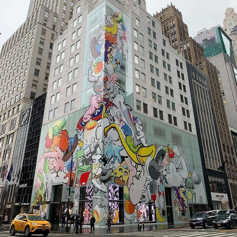 H μπουτίκ της Louis Vuitton στη Νέα Υόρκη μεταμορφώνεται με αφορμή τη νέα collection